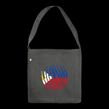 Claw claw home origin Philippines png - Shoulder Bag made from recycled material