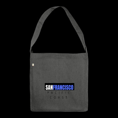 san francisco - costo pacifico - Borsa in materiale riciclato