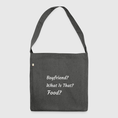 Food - Shoulder Bag made from recycled material