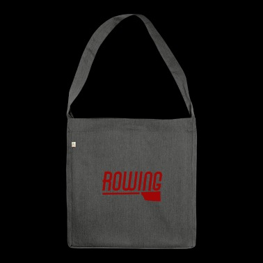 Rowing / rowing / T-shirt - Shoulder Bag made from recycled material