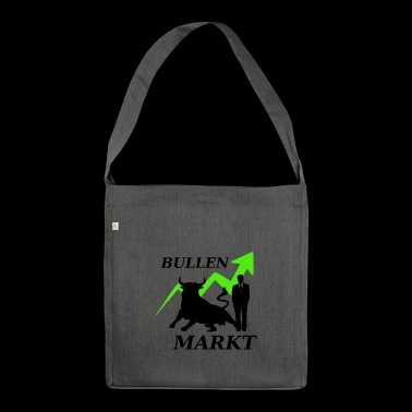 Stock market market - Shoulder Bag made from recycled material