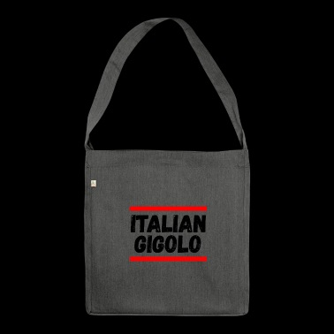 Italian Gigolo For Him doodo - Shoulder Bag made from recycled material