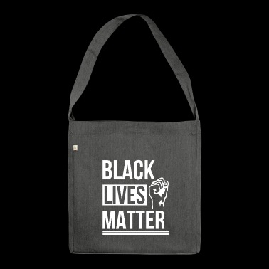 Migration Black people - Shoulder Bag made from recycled material