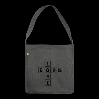 Gift Jesus Christ Christian Religious Religion - Shoulder Bag made from recycled material