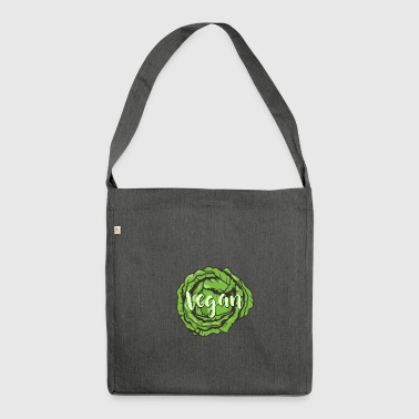 Vegan - Animal Welfare - Gift - Shoulder Bag made from recycled material