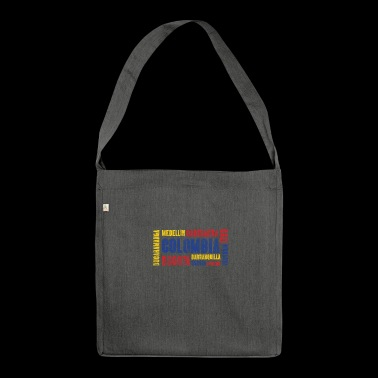 Colombia Colombia Gift Bogota Medellin Cali - Shoulder Bag made from recycled material