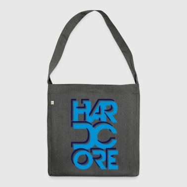 hard core - Borsa in materiale riciclato