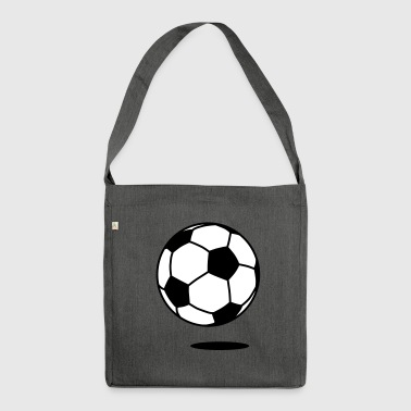 football with shadow / ball with shadow 2c - Sac bandoulière 100 % recyclé