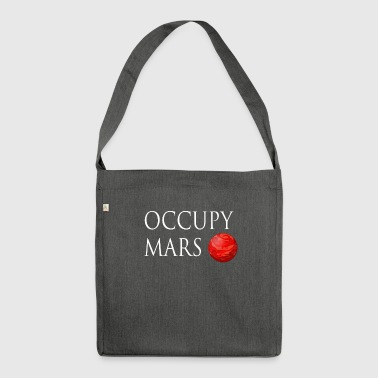 Occupy March Space - Shoulder Bag made from recycled material