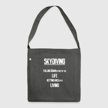Skydiving - Shoulder Bag made from recycled material