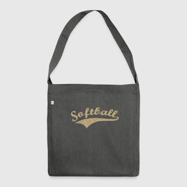 Softball v1 - Shoulder Bag made from recycled material