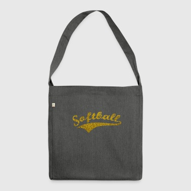 Softball v3 - Shoulder Bag made from recycled material