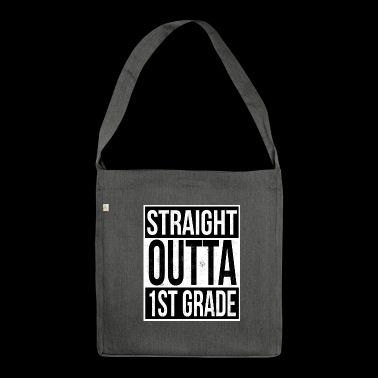 Straight Outta 1 Grade - Shoulder Bag made from recycled material