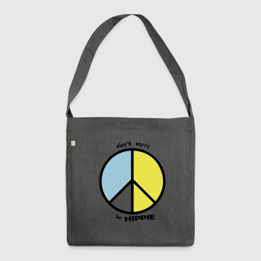be hippie - Shoulder Bag made from recycled material