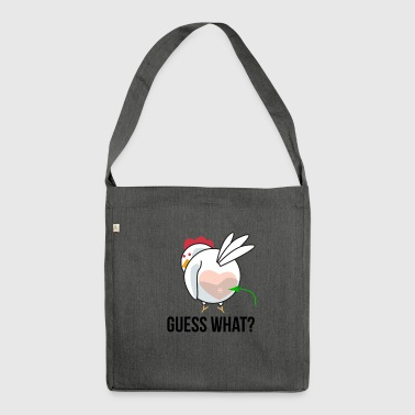 Naughty chicken - Shoulder Bag made from recycled material