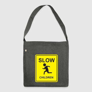 Slow Children - Shoulder Bag made from recycled material