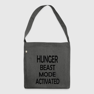 HUNGER BEAST MODE ACTIVATED - Schultertasche aus Recycling-Material