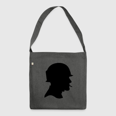 soldier - Shoulder Bag made from recycled material