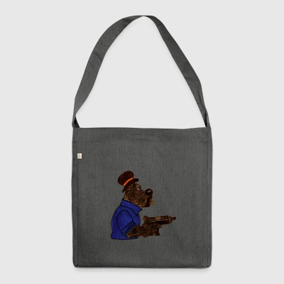 Graffiti - Character - SIR - Shoulder Bag made from recycled material