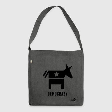 Democracy - Shoulder Bag made from recycled material
