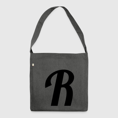 R - Shoulder Bag made from recycled material