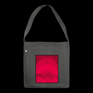 Forest - Shoulder Bag made from recycled material