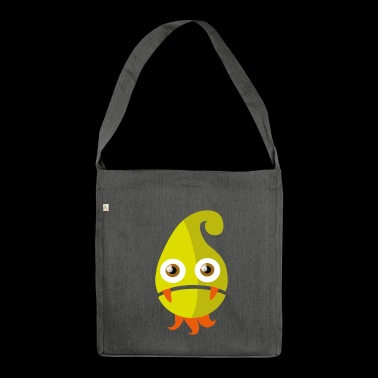 Zipfeline - 70s Monster Collection - Schultertasche aus Recycling-Material