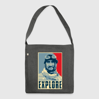 Explore - Shoulder Bag made from recycled material