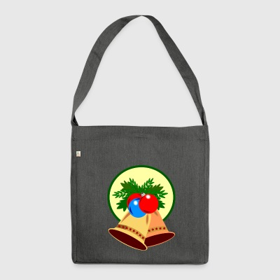 bells bells christmas christmas sante claus - Shoulder Bag made from recycled material