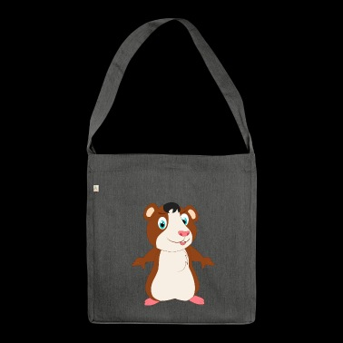 Hamster hamster hamster hamster hamster - Shoulder Bag made from recycled material