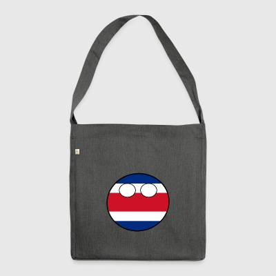 Countryball Country Home Costa Rica - Shoulder Bag made from recycled material