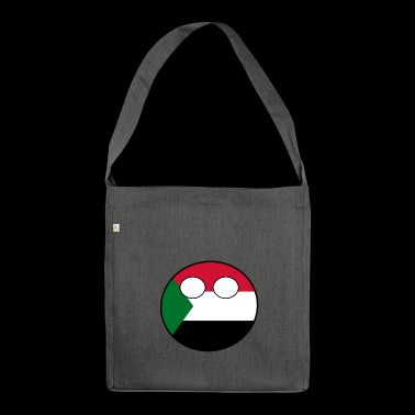 Countryball Country Home Sudan - Shoulder Bag made from recycled material