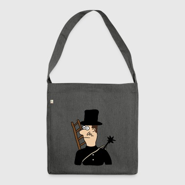 Chimney sweep | Chimney happiness lucky - Shoulder Bag made from recycled material