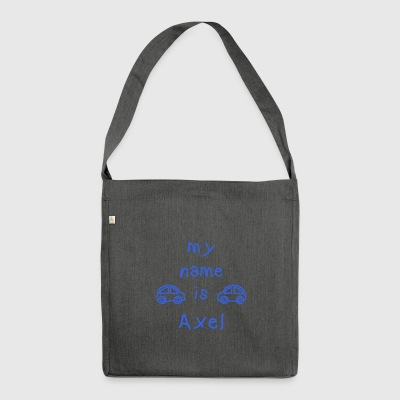 AXEL MY NAME IS - Sac bandoulière 100 % recyclé