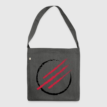 Scratch the Circle - Schultertasche aus Recycling-Material