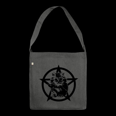 Satanic Kitten - Shoulder Bag made from recycled material