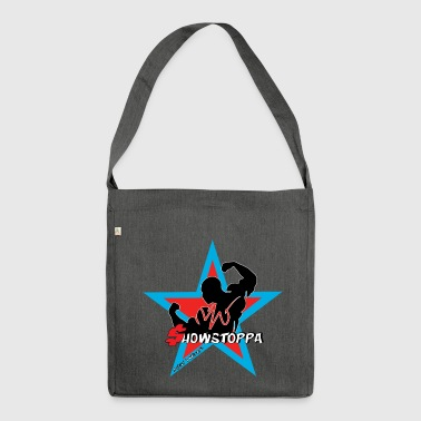 MIGI WEAR: showstoppa_blauw - Shoulder Bag made from recycled material