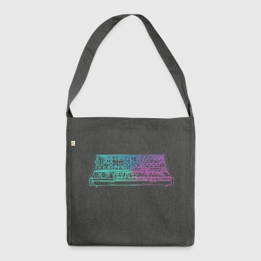 Synthesizer - Shoulder Bag made from recycled material
