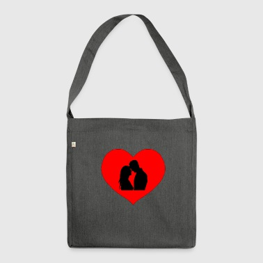 love couple - Shoulder Bag made from recycled material
