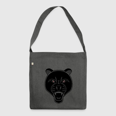 Blackpanther - Schultertasche aus Recycling-Material
