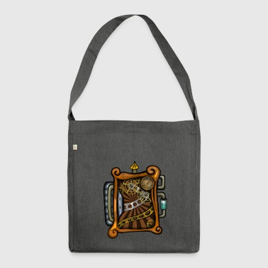 Steampunk - Shoulder Bag made from recycled material