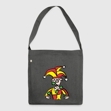 Clown / Joker - Shoulder Bag made from recycled material