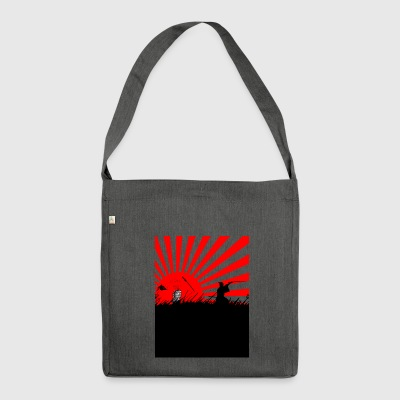 Cool samurai - Shoulder Bag made from recycled material