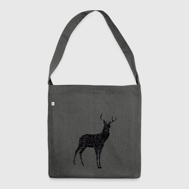 Deer - Shoulder Bag made from recycled material
