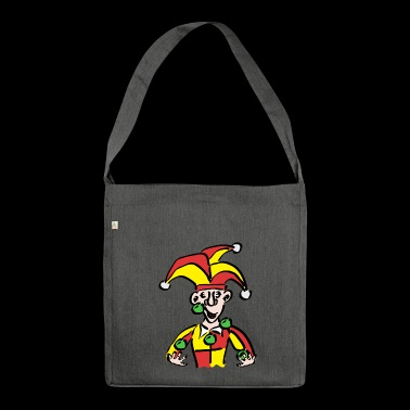 Clown / Joker - Borsa in materiale riciclato