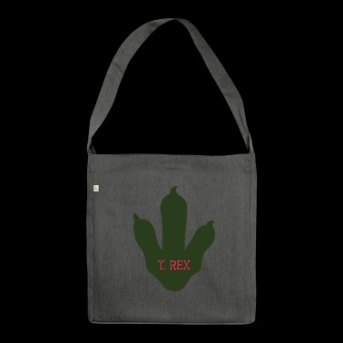Dino foot - Shoulder Bag made from recycled material