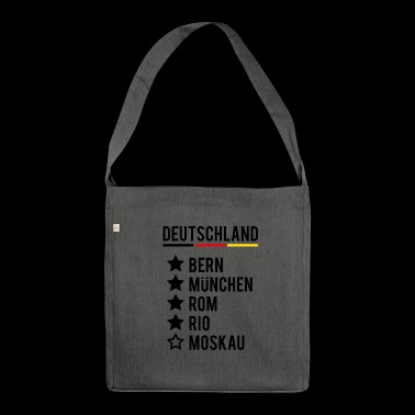 Football World Champion Germany Siege World Cup - Shoulder Bag made from recycled material
