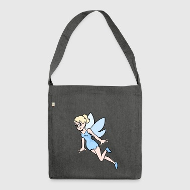 Elf fairy elves fairies fairy tale fable mythical creature - Shoulder Bag made from recycled material