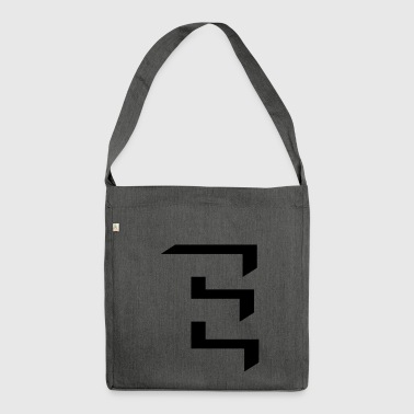 'E' shading - Shoulder Bag made from recycled material