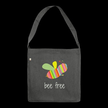 bee free - Borsa in materiale riciclato